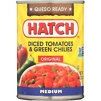 Hatch Green Chili Dice Tmo, Case of 12 X 10 Oz
