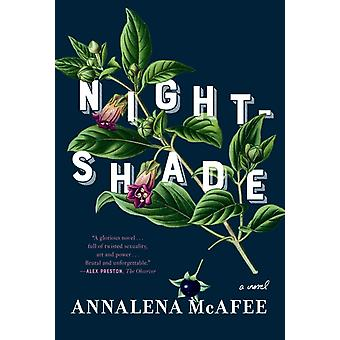 Nightshade  A novel by Annalena McAfee