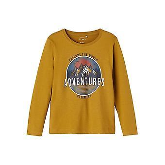Name-it Jongens Tshirt Victor Adventures Cumin