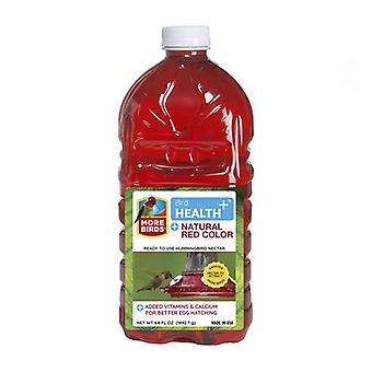 More Birds Health Plus Ready To Use Hummingbird Nectar Natural Red - 64 oz