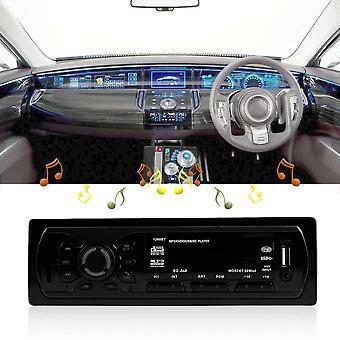 Bluetooth Autoradio Audio 1 Din In-dash Récepteur d'entrée FM Usb Mp3 Radio