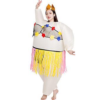 Costume gonflable Costume de ballet Costume pour spectacle Halloween Noël Cosplay Party Jumpsuit fantaisie