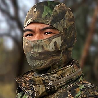 Армия Балаклава Полное лицо Маска Камуфляж Лыжи под шлемом Мотоцикл На открытом воздухе