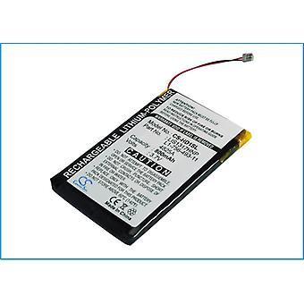 Battery for Sony Walkman NW-HD1 20GB Digital Media Player PMPSYHD1 800mAh