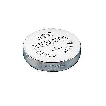 Renata 1.55 Volt Watch Battery 396 Replaces - Pack of 10 (SR726W)