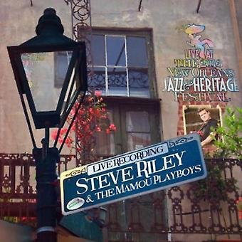 Steve Riley & the Mamou Playboys - Live at Jazzfest 2013 [CD] USA import