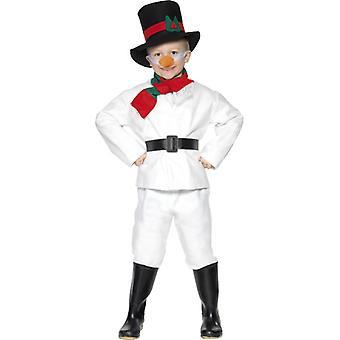 Snögubbe-dräkt barn snögubbe kostym