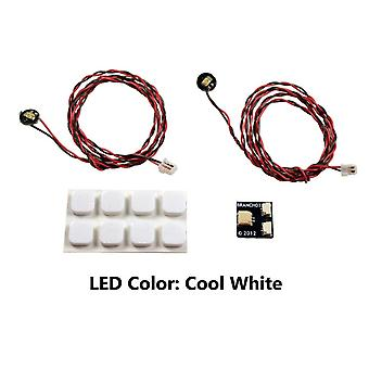 Brickstuff Cool White Pico LED Light Board 2-Pack - LEAF01-PCW-2PK