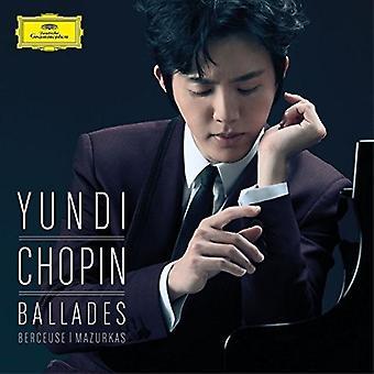 Yundi - Chopin: Ballades [CD] USA import