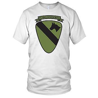 US Army 1 kavaleri flyr rytter ren effekt - Vietnam-krigen Mens T-skjorte