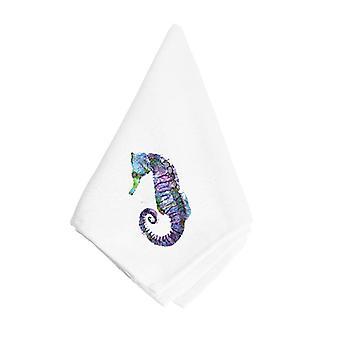 Carolines Treasures  8639NAP Seahorse   Napkin