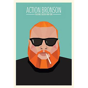 Action Bronson Queens Flushing Queens NY Poster Poster Print