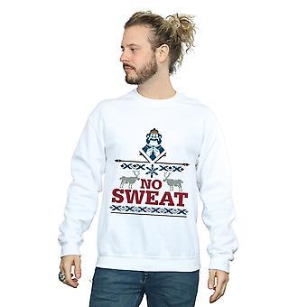 Disney mannen geen zweet Sweatshirt eiken is bevroren