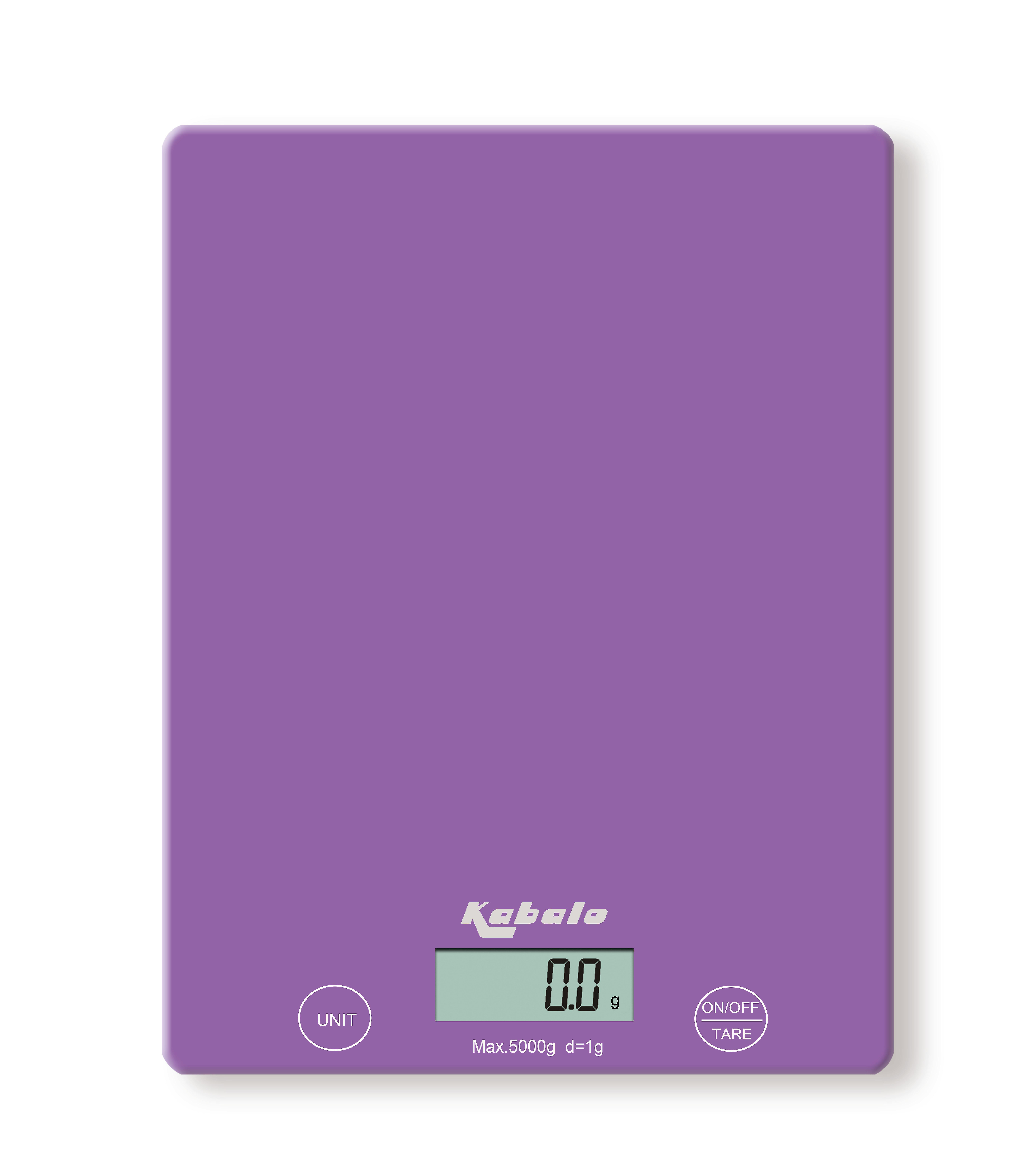 Kabalo 5kg Purple Digital LCD Electronic Kitchen Cooking Baking Prep Food Preparation Weighing Scales UK