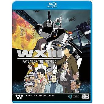 Patlabor Wxiii [Blu-ray] USA import