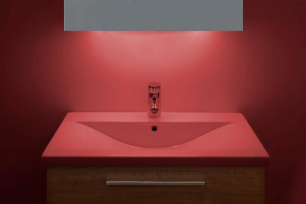 Ambient Shaver LED Bathroom Mirror With Demister Pad & Sensor K163P
