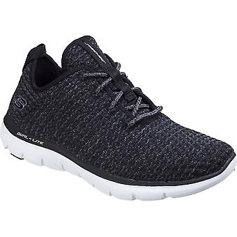 سكيتشرز النسائية/السيدات فليكس الاستئناف 2.0 جديد جوهره أحذية خفيفة المدربين