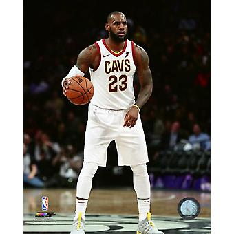 LeBron James 2017-18 Action Photo Print