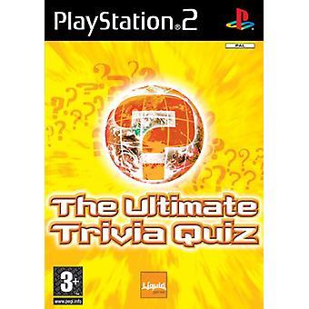 Den ultimative Trivia Quiz (PS2) - Ny fabrik forseglet