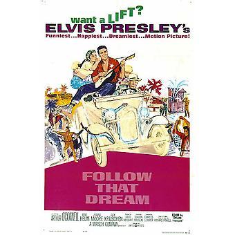 Follow That Dream Movie Poster (11 x 17)