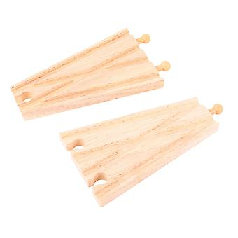 Bigjigs Rail Wooden Track Splitter (Pack of 2) Train Track Expansion Set