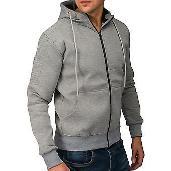Mænds jakke CLASSICFIT Sweat jakke sport jakke hættetrøje (3 farver)