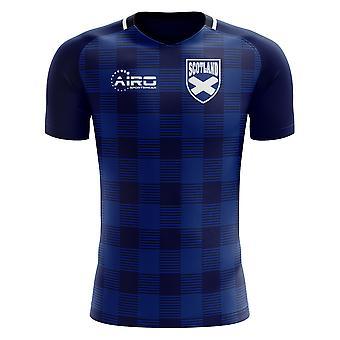 2018-2019 اسكتلندا الترتان مفهوم كرة القدم قميص