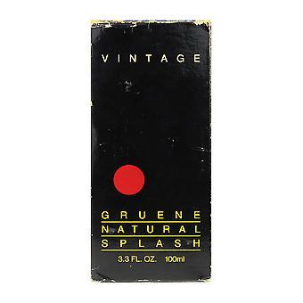 グルーエーヌ ヴィンテージ自然スプラッシュ 3.3 オンス/100 ml ボックス (ヴィンテージ)