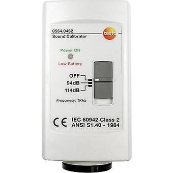 testo 0554 0452 Calibrator SPL 1 x 9 V PP3 battery (included)