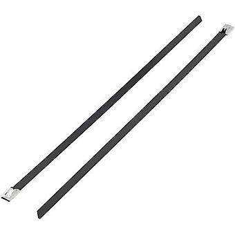 KSS 1091215 BSTC-362L Cable tie 362 mm 7.90 mm Black Coated 1 pc(s)