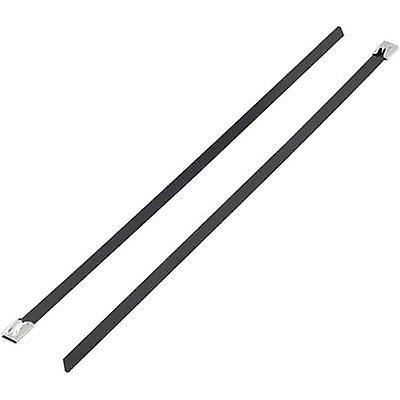 KSS 1091215 BSTC-362L Cable tie 362 mm Black Coated 1 pc(s)