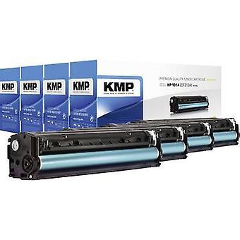 KMP H-T171V väri kasetti sarja korvattu HP 131A, 131X, CF210A, CF210X, CF211A, CF212A, CF213A musta, syaani, magenta, keltainen 2400 puolin yhteensopiva väri aine
