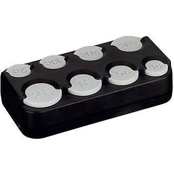 Herbert Richter 856/002 Euro coin box (W x H x D) 105 x 25 x 56 mm