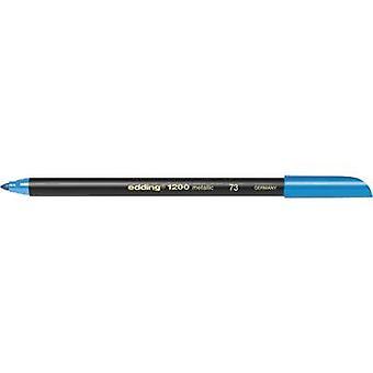 قلم Edding Color E-1200 4-1200073 الأزرق (معدني) 1 مم، 3 مم 1 كمبيوتر شخصي (أجهزة الكمبيوتر)