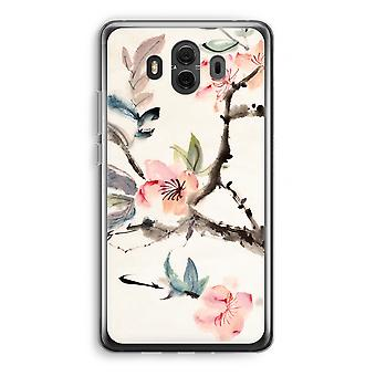 Huawei Mate 10 caso transparente (Soft) - Japenese flores