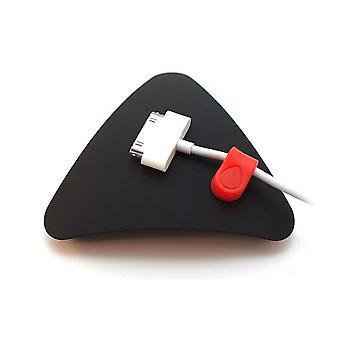 Systeem van de organisator magnetische kabel Mnd - zwart