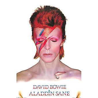 David Bowie poster Aladdin Sane 91,5 x 61 cm