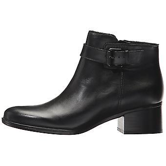 ناتوراليزير درة النسائية الجلدية مغلقة إصبع القدم الكاحل أحذية أزياء