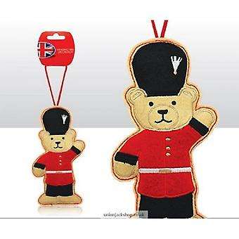 Union Jack käyttää British teemalla vartiomies Nalle joulukuusen koristelu