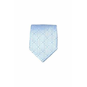 Blue silk tie M24