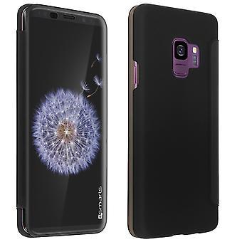 4Smarts interactive kyoto flip case for Samsung Galaxy S9 - Black