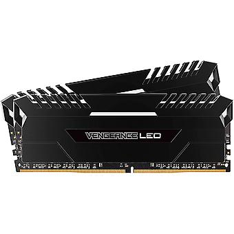 Corsair Vengeance LED DDR4 2400MHz PC RAM - 8GB x 2 - CMU16GX4M2A2400C16