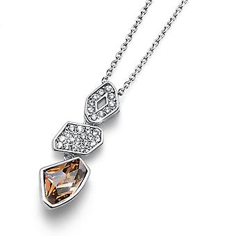 Oliver Weber Pendant Galactic Rhodium, Golden Shadow