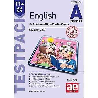 11 + الإنكليزية السنة 5-7 ورقات تيستباك A 1-4-تقييم GL نمط بركة