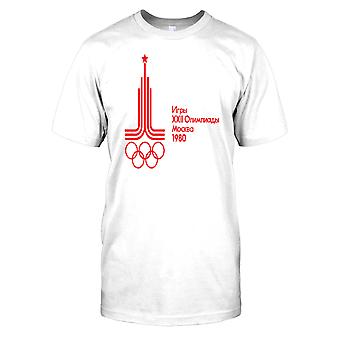 Russia Moscow Olympics 1980 Mens T Shirt