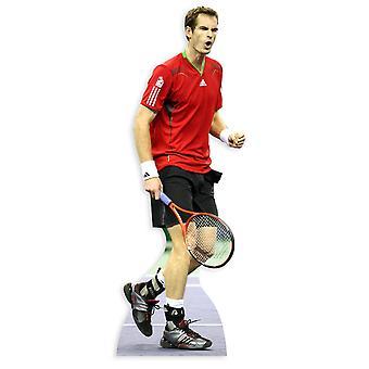 Andy Murray Lifesize Karton Ausschnitt / f / Standup