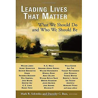 Ledende bor sakens: Hva vi skal gjøre og hvem vi bør være