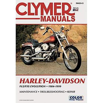Harley Davidson 1340 FX/FL Big Twin Evolution 84-99