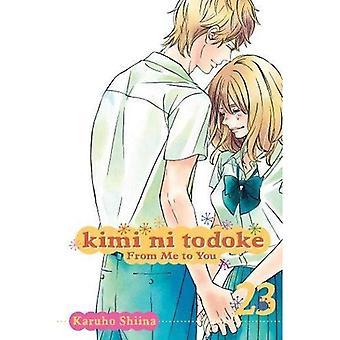 Kimi ni Shusseitodoke: de mí al volumen 23
