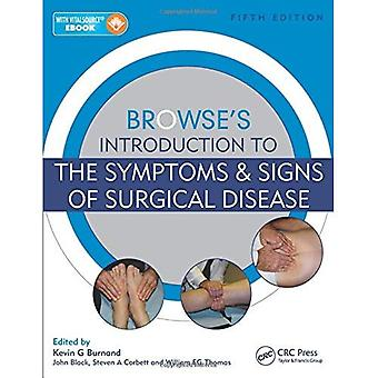 Introdução do navegar para os sintomas e sinais de doença cirúrgica, quinta edição